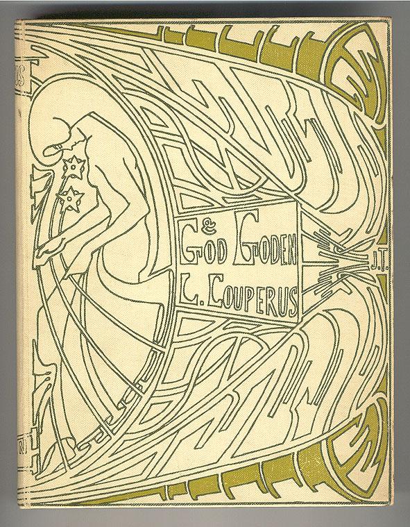 God en goden - Louis Couperus, bandontwerp: Jan Toorop (1903)