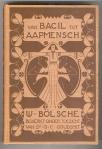 Van bacil tot aapmensch - Wilhelm Bölsche, bandontwerp: Georg Rueter (1901)