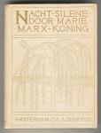 Nacht-silene door Marie Marx-Koning, bandontwerp: Simon Moulijn (1902)