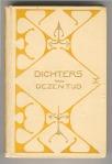 Dichters van dezen tijd, bandontwerp: Reinier de Vries (1899)