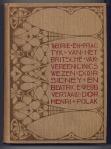 Theorie en practijk van het Britsche Vakvereenigingswezen - Sidney en Beatrice Webb, bandontwerp: Theo Neuhuys (1901)