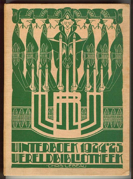 Winterboek Wereldbibliotheek 1924-1925, bandontwerp: Chris Lebeau (1924)