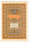 Programma van het Concertgebouw te Amsterdam, omslagontwerp: Theo Neuhuys (1906)