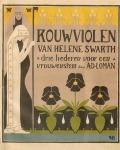 Muziekblad - Rouwviolen van Helene Swarth, ontwerp: Hendrik P. Berlage (1895)