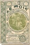 Le Mois nr. 40 1902, omslagontwerp: Alphonse Mucha