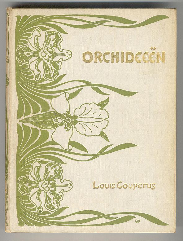 Orchideeën - Louis Couperus, bandontwerp: Willem Wenckebach (1895)