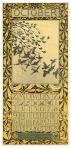 Kalenderblad - october 1905, ontwerp: Theo van Hoytema
