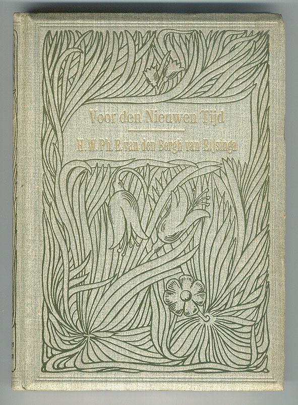 Voor den nieuwen tijd - H.W.Ph.E. van den Bergh van Eijsinga (1901), bandontwerper onbekend