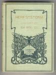 Herfststorm door Ida Boy-Ed (ca. 1905), bandontwerper onbekend