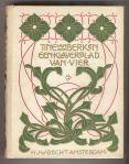 Een klaverblad van vier - Tine van Berken, bandontwerp: Jan Sluijters (+/- 1910)