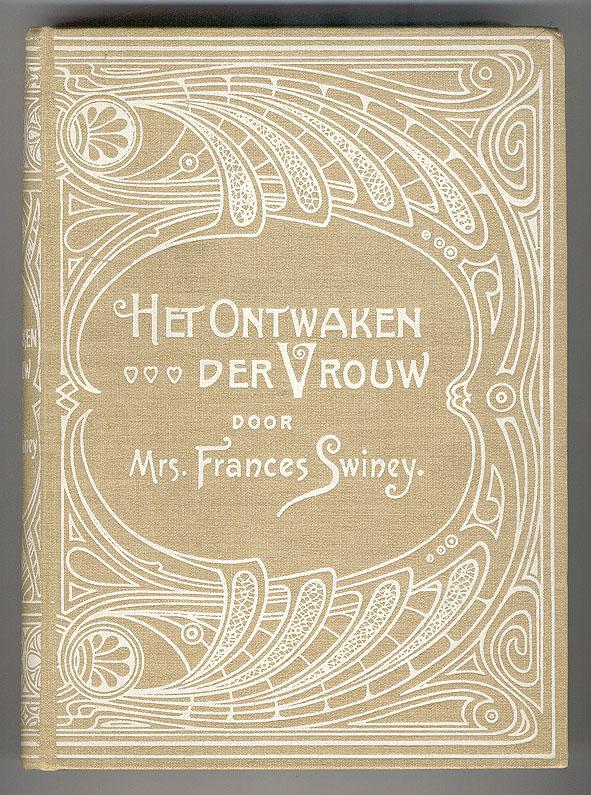 Het ontwaken der vrouw - Frances Swiney (1902), bandontwerper onbekend