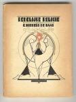 Redelijke religie door G. Horreüs de Haas, bandontwerp: Maarten Meuldijk (1923)