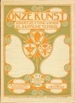Tijdschrift – Onze Kunst (1902), omslagontwerp: Hendrik Petrus Berlage