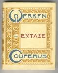 Werken van Couperus - Extaze, bandontwerp: Hendrik Petrus Berlage (1905)