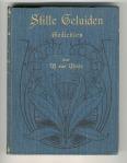 Stille geluiden - Gedichten door W. van Weide (1903), bandontwerper onbekend