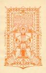 Folder - Dag en avond Teekenschool Hendrik de Keijzer, ontwerp: Antoon Molkenboer en/of leerling (1906)