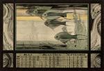 Kalenderblad (2), ontwerp: Adriaan van 't Hoff (ca. 1925)