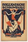 Programma Hollandsche Schouwburg, omslagontwerp: Cornelis Dekker (ca. 1925)