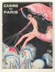 Programmaboekje - Casino de Paris, omslagontwerp: Louis Gaudin (1931)