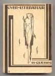 Over literatuur - Is. Querido, bandontwerp: Pieter Hofman (1924)
