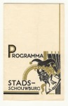 Programmaboekje Stadsschouwburg Amsterdam, omslagontwerp: Fré Cohen (1932)