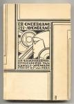 De ondergang van het avondland - L.J. van Holk, omslagontwerp: Pieter Hofman (1925)