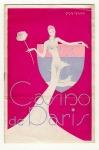 Programmaboekje - Casino de Paris, omslagontwerp: Jean-Dominique van Caulaert (1938)
