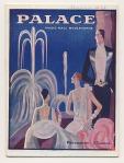 Programmaboekje - Palace Music-Hall Boulevards, omslagontwerp: Edouard Halouze (1928)