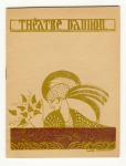 Programmaboekje - Théâtre Daunou, omslagontwerp: Lanvin Décoration (1932)
