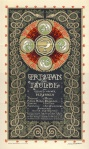 Programmablad Tristan und Isolde, ontwerp: Antoon Molkenboer (1902)