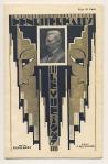 Programmaboekje -Henri ter Hall's Revue 1927, omslagontwerp: Chris van der Hoef