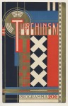 Programma Theater Tuschinski, omslagontwerp: Jac. Jongert (1926)