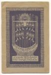 Programmaboekje - Matthäus Passion, omslagontwerp: Annie Tollenaar (1913)