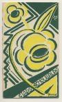 Programmaboekje - Stadsschouwburg Amsterdam, omslagontwerp: Mommie Schwarz (1924)