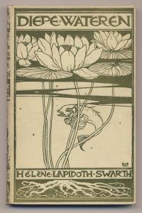 Diepe wateren - Hélène Lapidoth-Swarth, bandontwerp: Willem Wenckebach (1897)