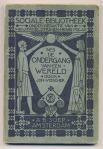 De ondergang van een wereld - J. Visser, omslagontwerp: Sjoerd de Roos (1903)