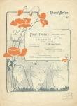 Muziekblad - Rhené Baton - Pour Yvonne (1902)