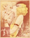 Muziekblad - Der Duft der eine schöne Frau begleitet, omslagontwerp: Willy Herzig (ca. 1925)