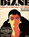 Muziekblad - Diane, omslagontwerp: Raymond Erny (1928)