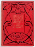 De dood van de oude mevrouw Van Leeuwen – J.M. Goedhart-Becker (1919), bandontwerp: L.W.R. Wenckebach (1898)