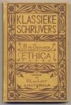 Baruch de Spinoza - Ethica, serieband 'Klassieke schrijvers', bandontwerp: Theo Nieuwenhuis (1893)
