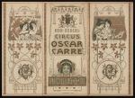 Programma - Circus Oscar Carré (1905)