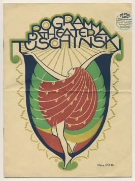 Programma Theater Tuschinski, omslagontwerp: Elias Ott (1924)