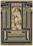 Kalenderblad Wereldkroniek (2), ontwerp: Pieter Hofman (1927)