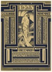 Kalenderblad Wereldkroniek (4), ontwerp: Pieter Hofman (1927)