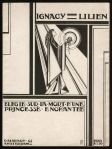 Muziekblad - Ignacy Lilien, omslagontwerp: Pieter Hofman (1915)