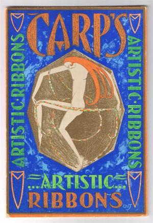 Reclame - Carp's Artistic Ribbons, ontwerp: Otto van Tussenbroek (ca. 1925)