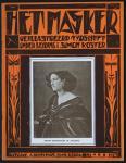 Tijdschrift - Het Masker, omslagontwerp: Gerard Rutten (1924)