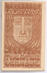 Programma Theater Verkade, omslagontwerp: Chris Lebeau (1915)