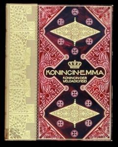 boekband koninklijk huis: Koningin Emma - Koningin der Weldadigheid